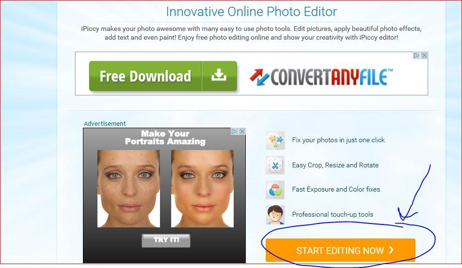 Ipiccy Modificare Sfondo Foto
